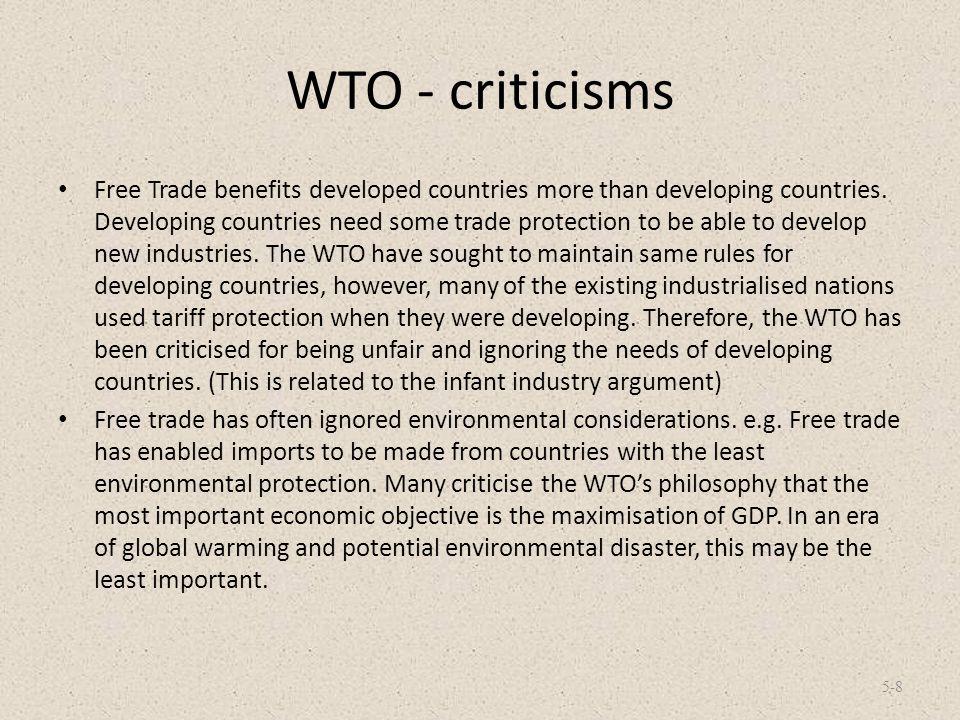 WTO - criticisms