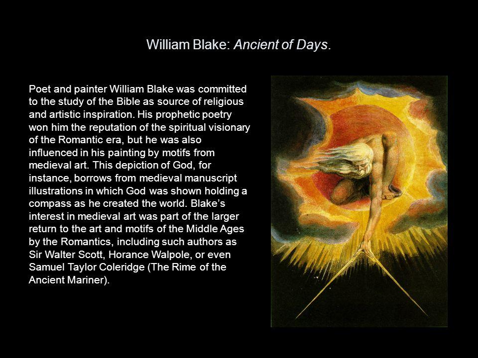 William Blake: Ancient of Days.