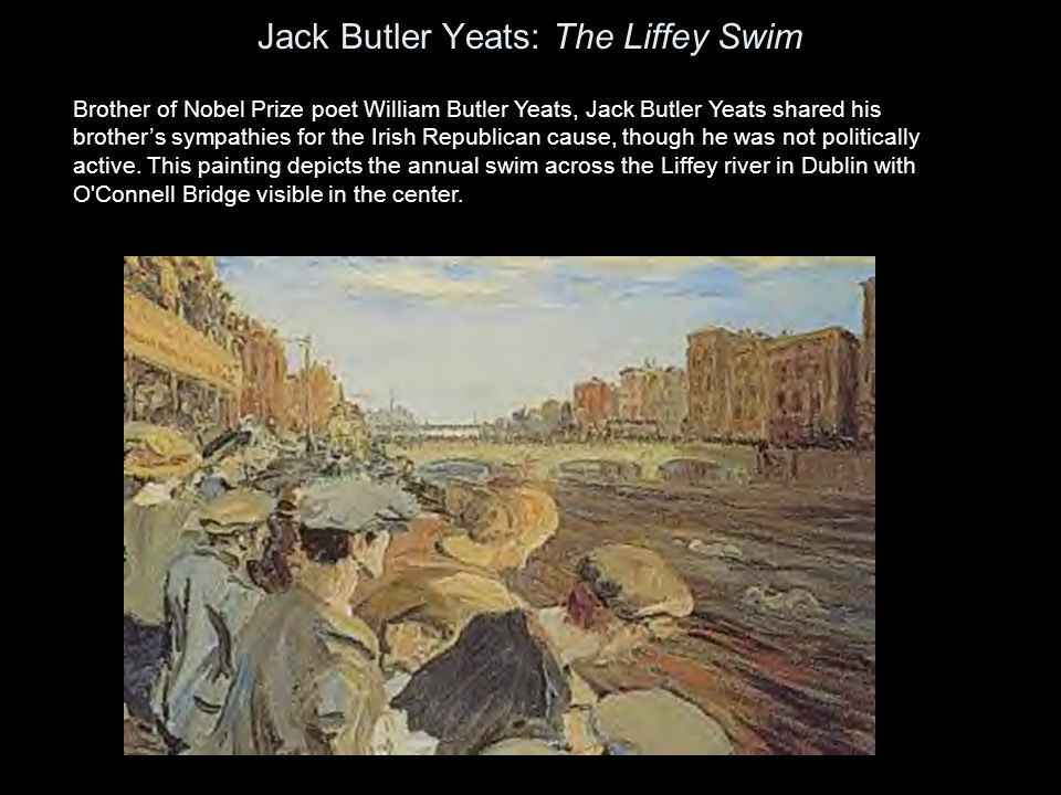 Jack Butler Yeats: The Liffey Swim
