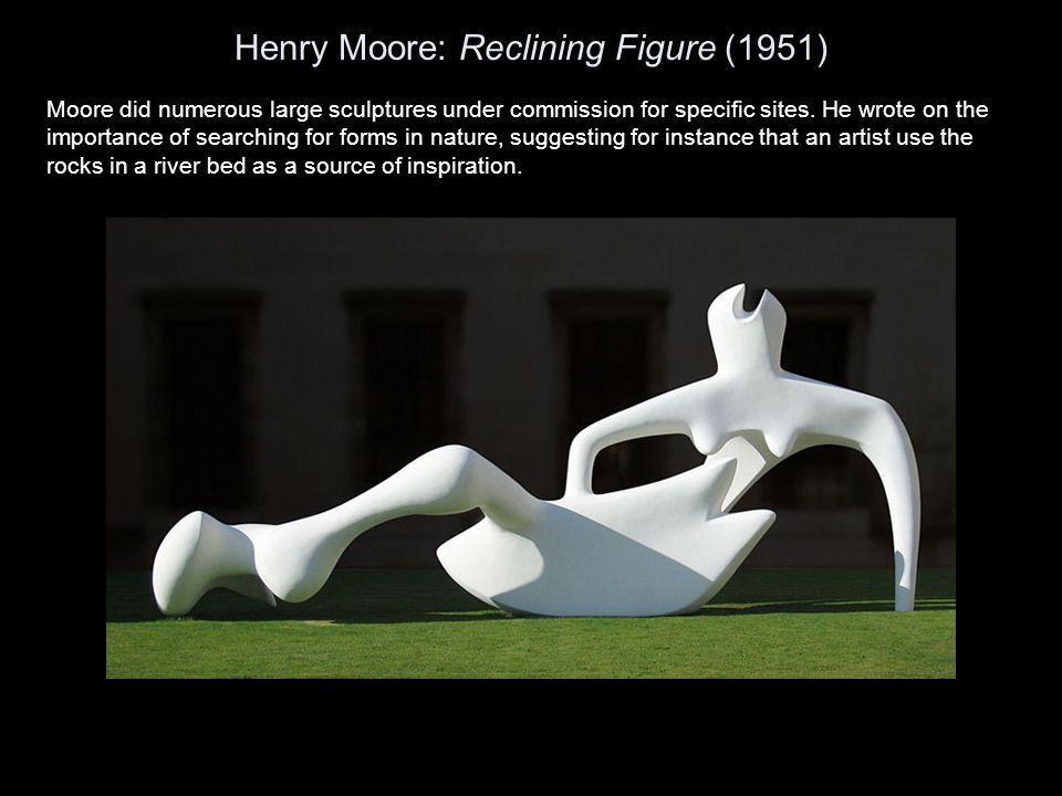 Henry Moore: Reclining Figure (1951)