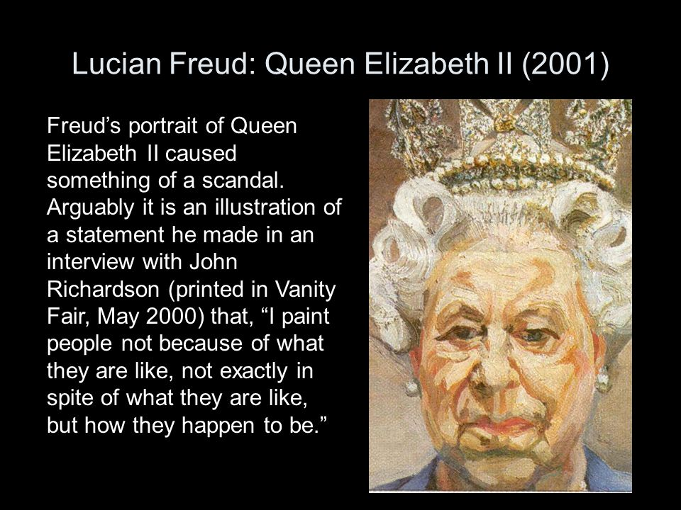 Lucian Freud: Queen Elizabeth II (2001)