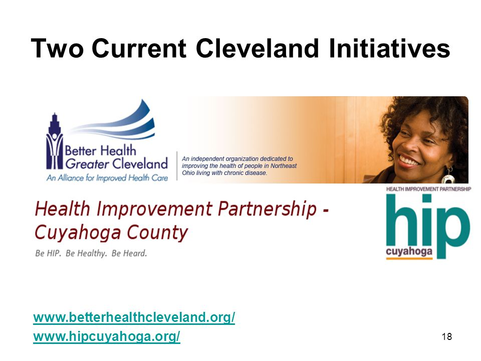 Two Current Cleveland Initiatives