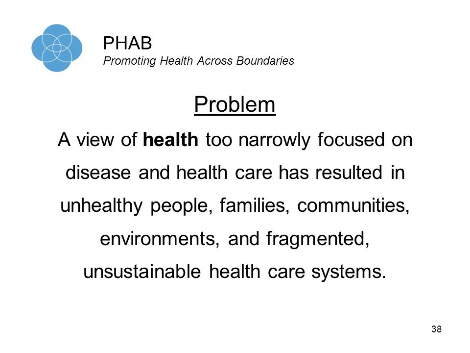 PHAB Promoting Health Across Boundaries