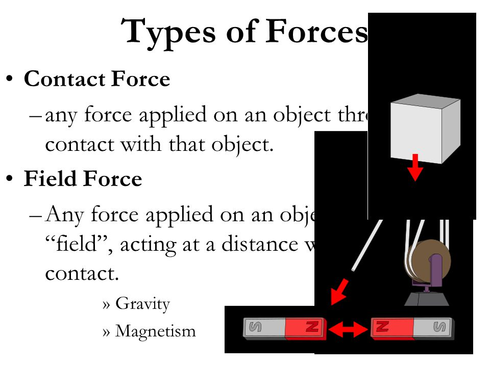 Types of Forces Contact Force