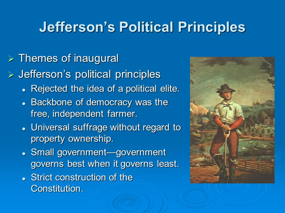 Jefferson's Political Principles