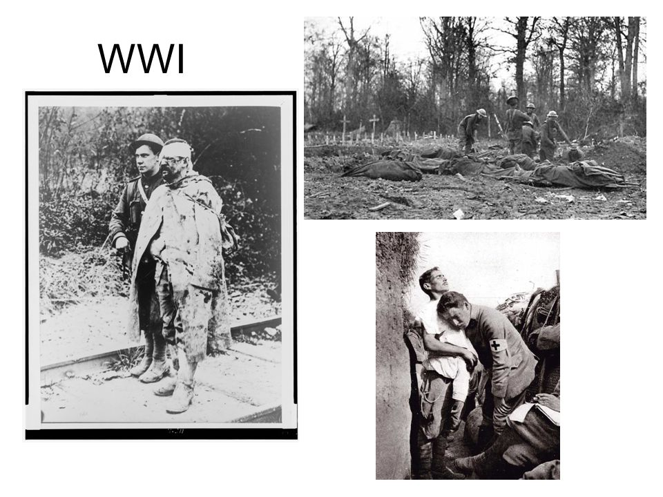 WWI WWI. -It involved Am. Artists and thinkers with the brutal actualities of large-scale modern war, so different from imagining heroism.