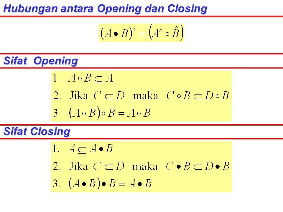 Hubungan antara Opening dan Closing