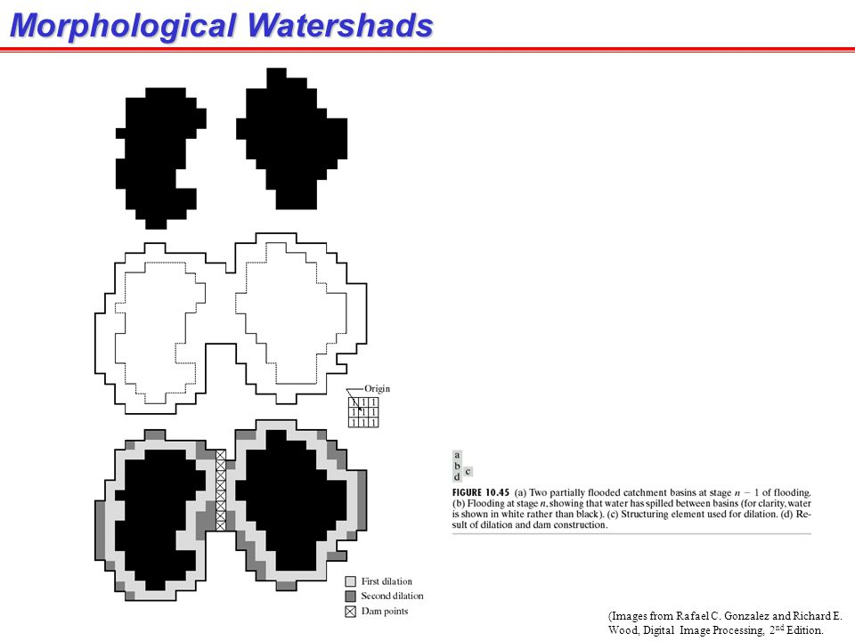 Morphological Watershads