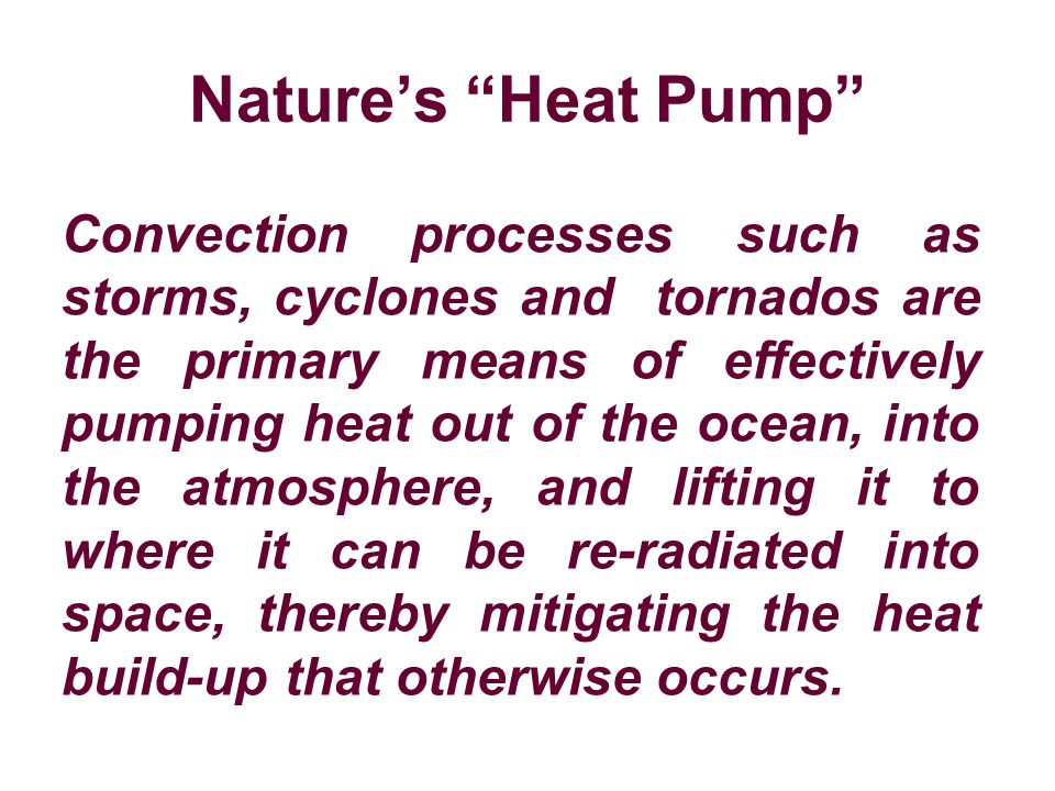 Nature's Heat Pump