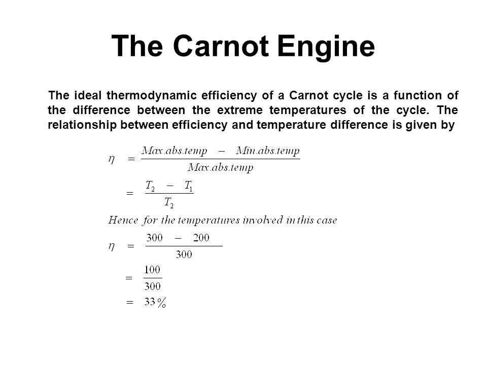 The Carnot Engine