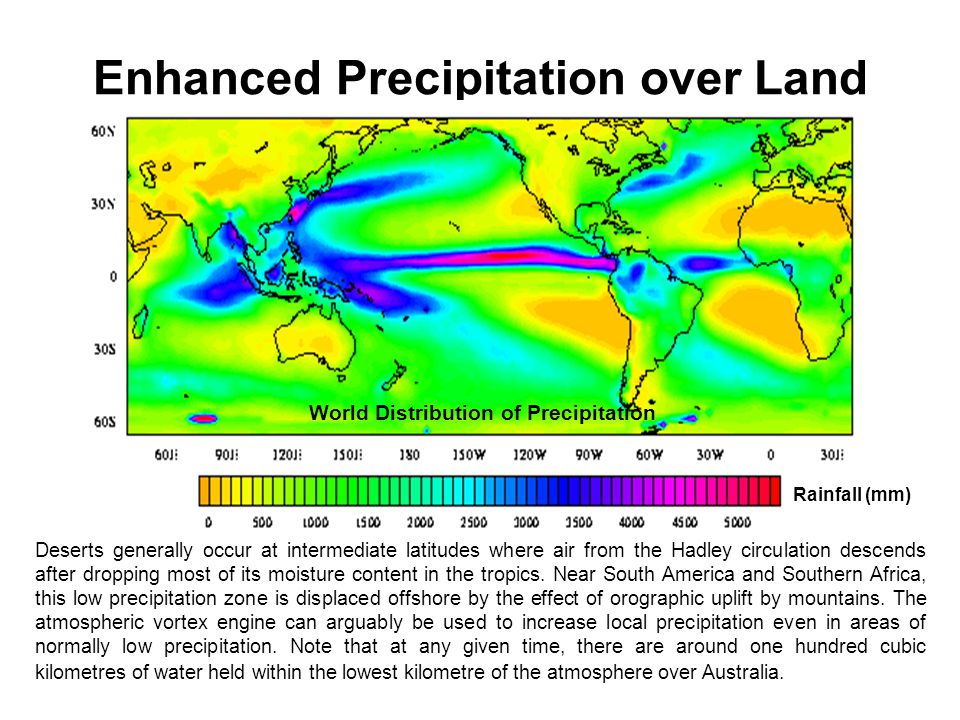 Enhanced Precipitation over Land