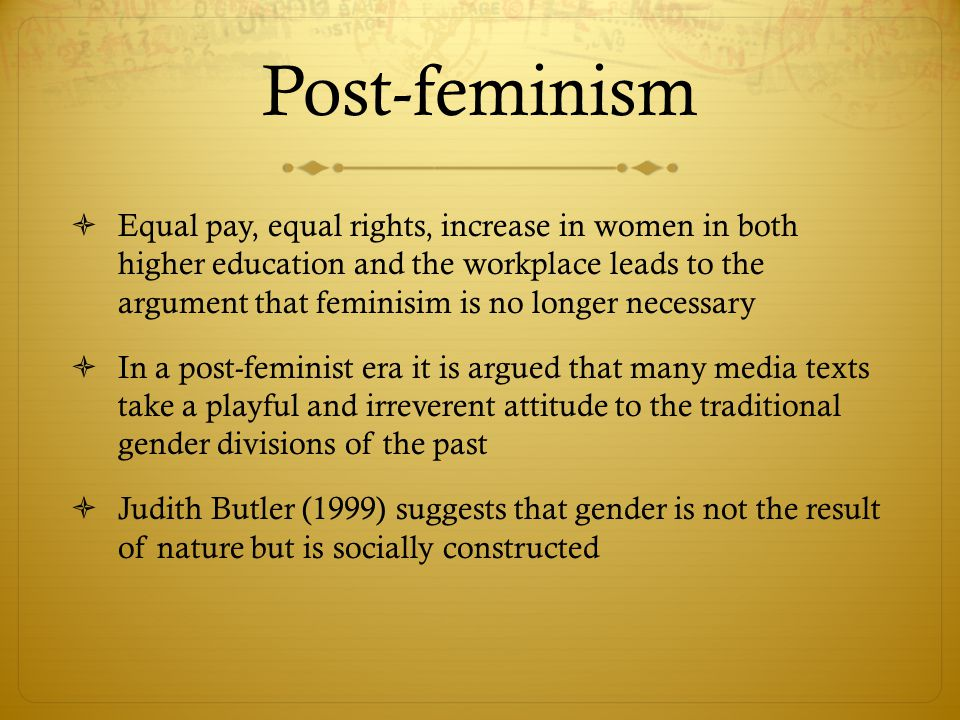 Post-feminism