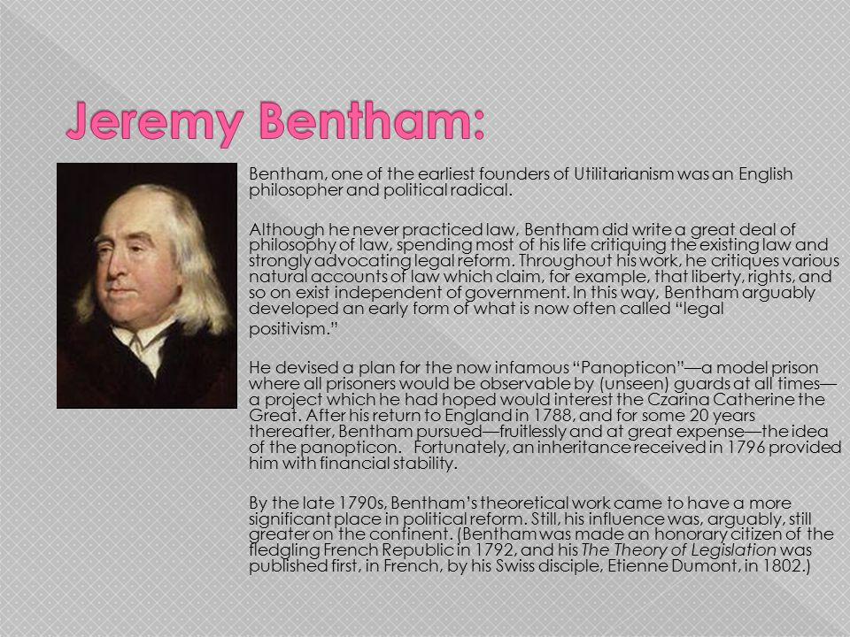Jeremy Bentham: