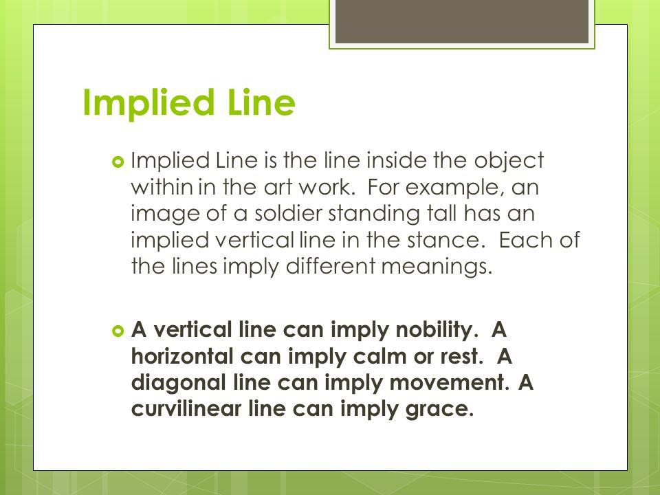 Implied Line