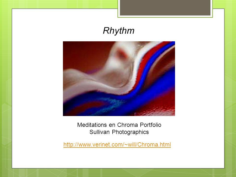 Rhythm Meditations en Chroma Portfolio Sullivan Photographics