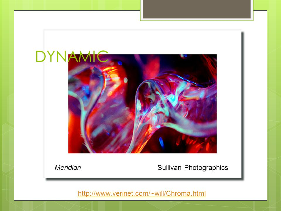 DYNAMIC Meridian Sullivan Photographics