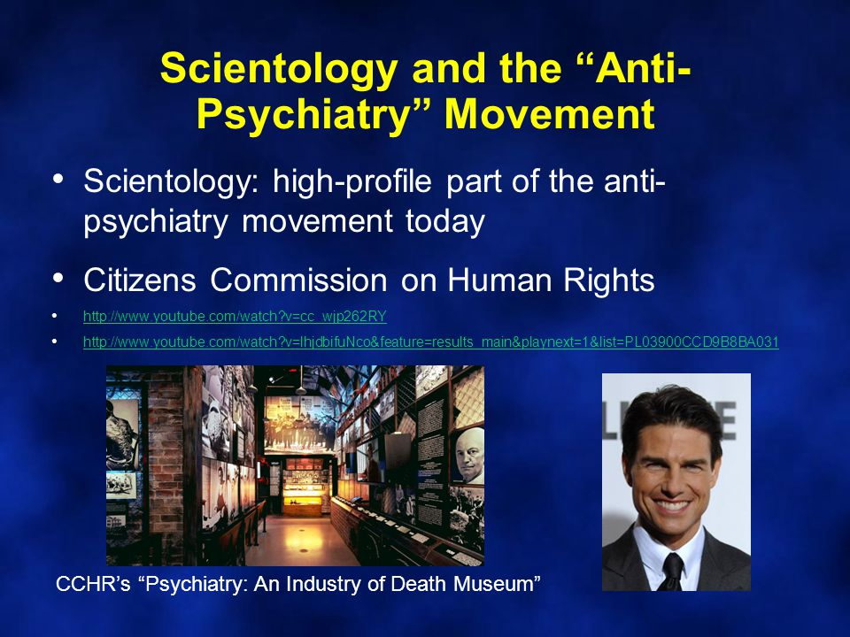 Scientology and the Anti-Psychiatry Movement