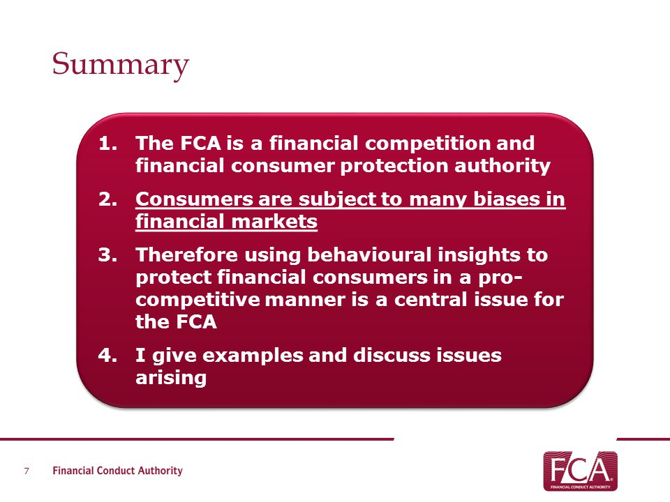 Behavioural economics at the FCA Zanna Iscenko and Kristine Erta, Financial Conduct Authority