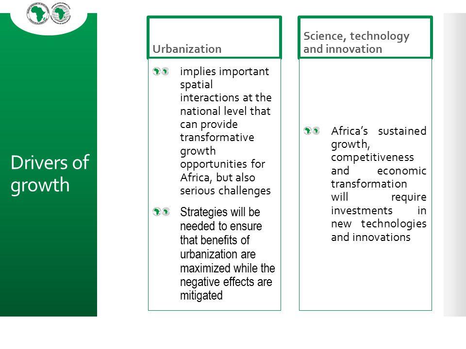 Urbanization Science, technology and innovation.