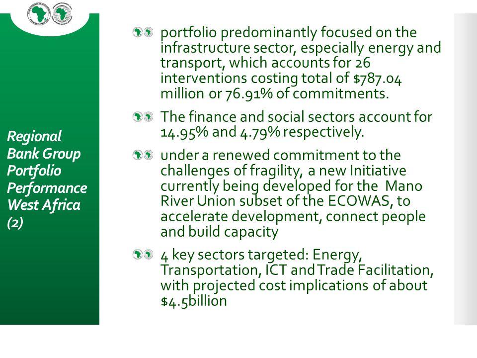Regional Bank Group Portfolio Performance West Africa (2)