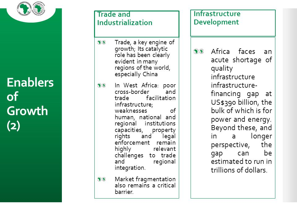 Enablers of Growth (2) Trade and Industrialization