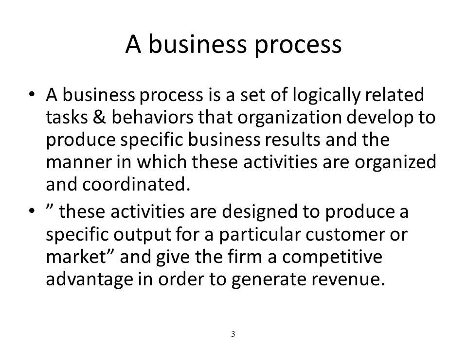 A business process