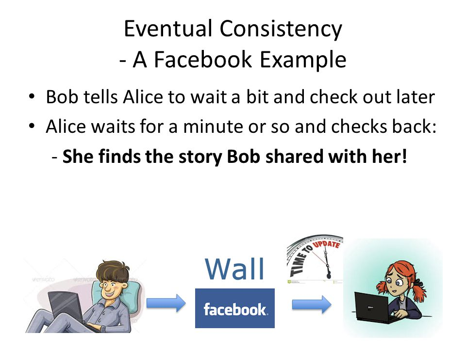 Eventual Consistency - A Facebook Example