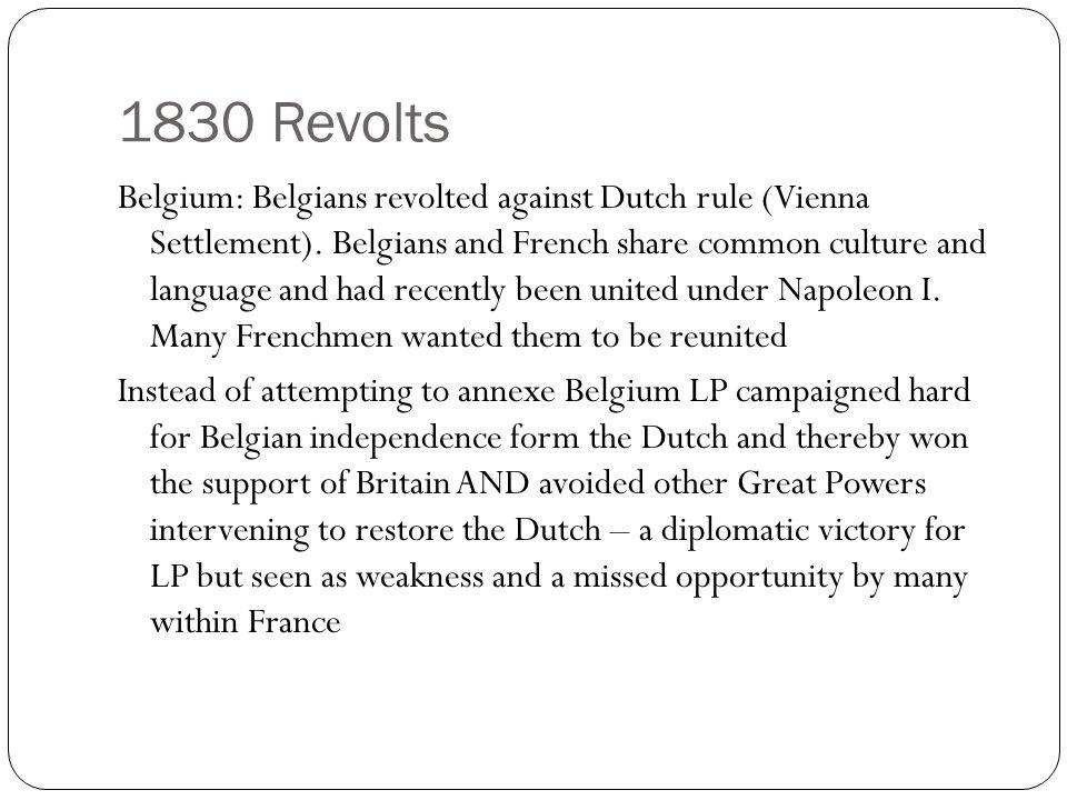 1830 Revolts