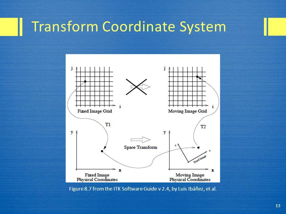 Transform Coordinate System