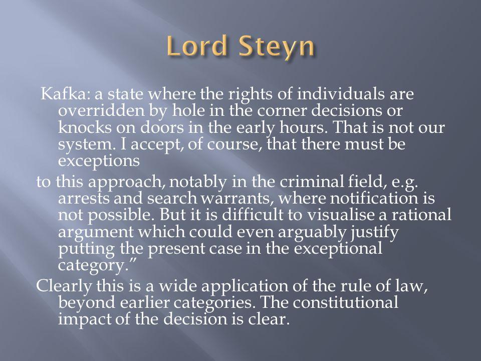 Lord Steyn