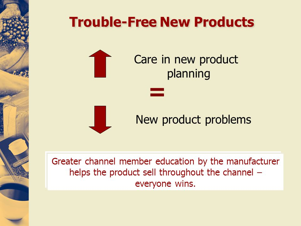 Trouble-Free New Products