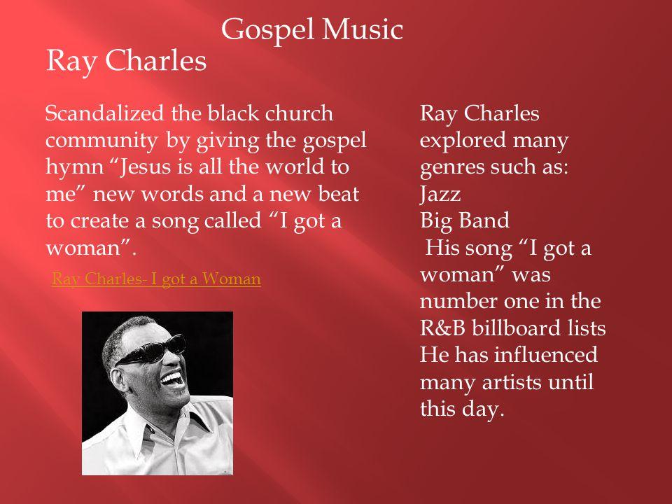 Gospel Music Ray Charles