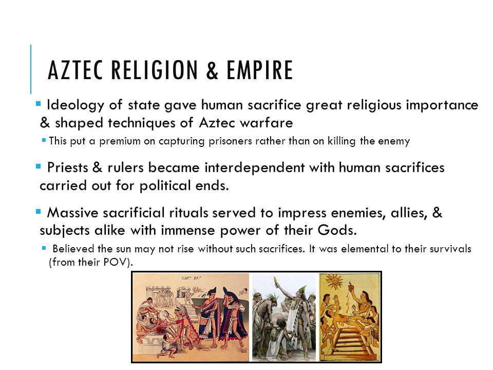 Aztec Religion & Empire