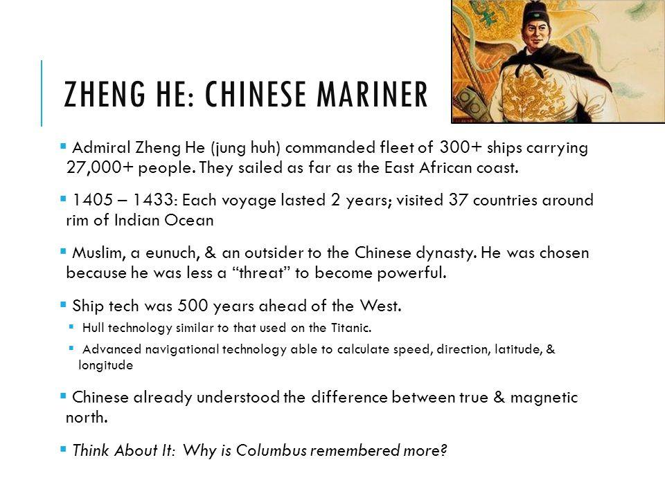 Zheng He: Chinese Mariner