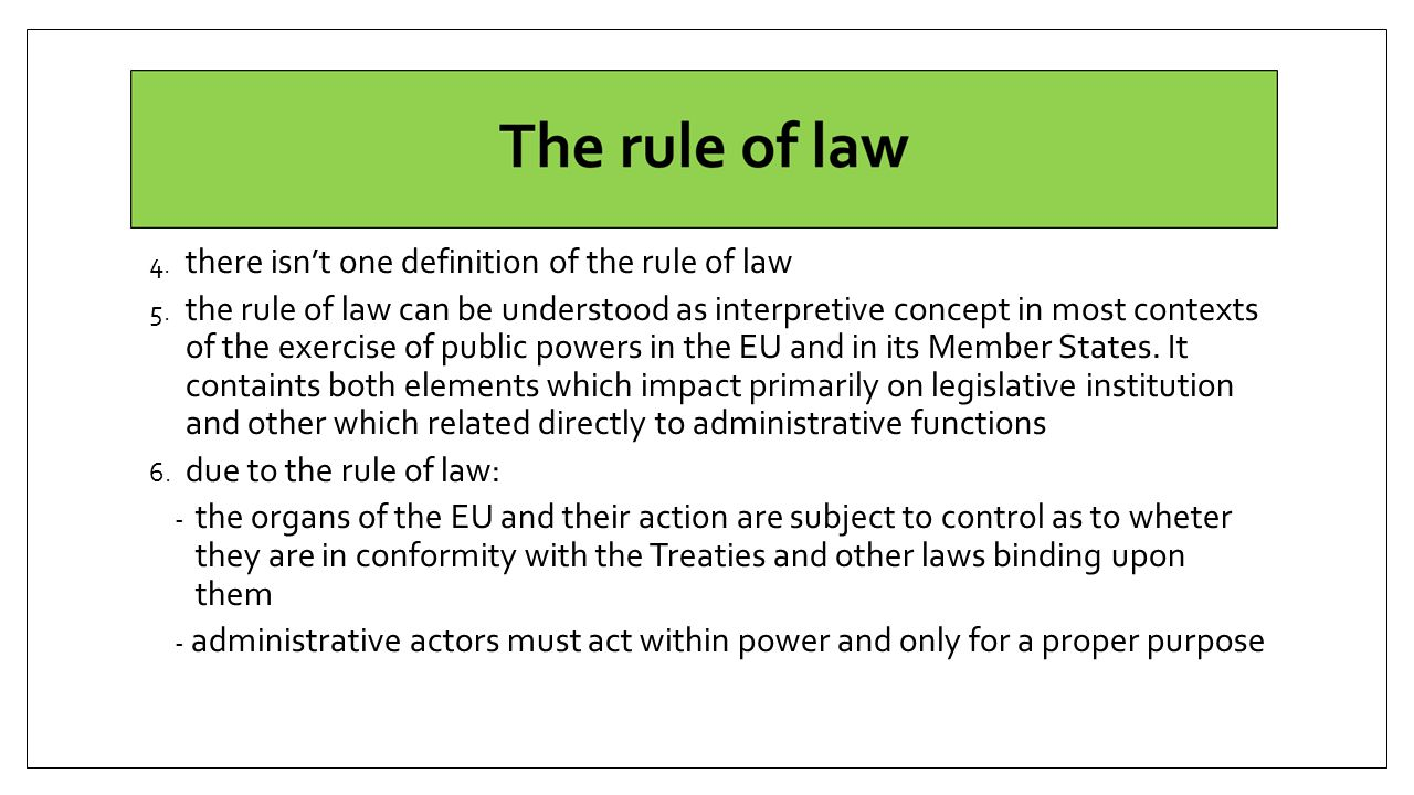 rule legal definition