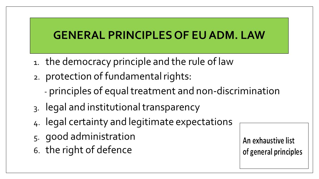 the democracy principle and the rule of law