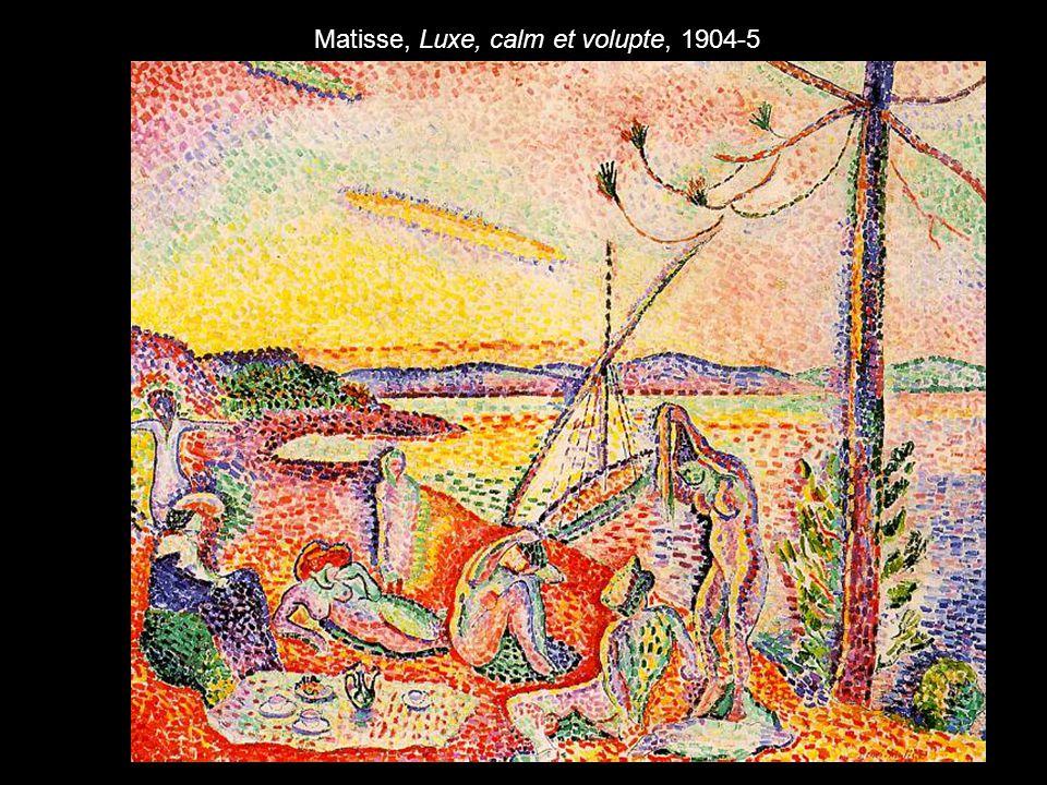 Matisse, Luxe, calm et volupte, 1904-5