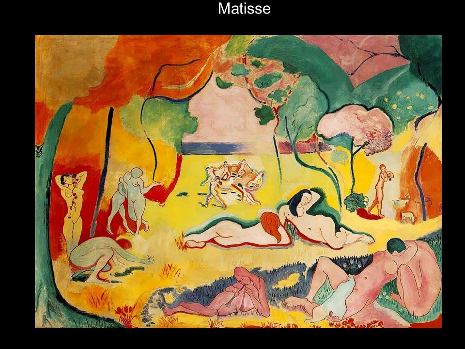 Matisse Le Bonheur de Vivre (Joy of Life), 1905-06, o/c, 69 x 94 14