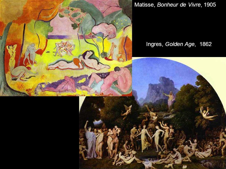 Matisse, Bonheur de Vivre, 1905