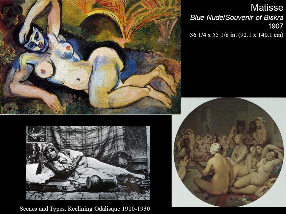 Matisse Blue Nude/Souvenir of Biskra 1907