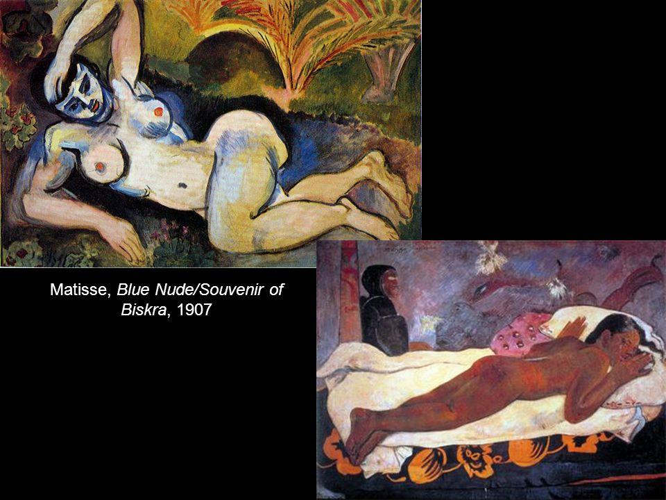 Matisse, Blue Nude/Souvenir of Biskra, 1907
