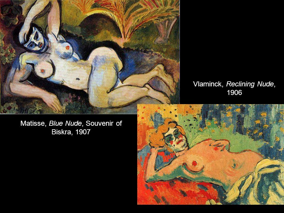 Vlaminck, Reclining Nude, 1906