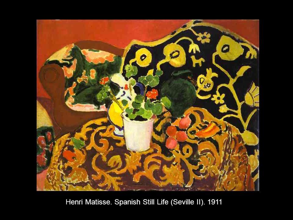 Henri Matisse. Spanish Still Life (Seville II). 1911