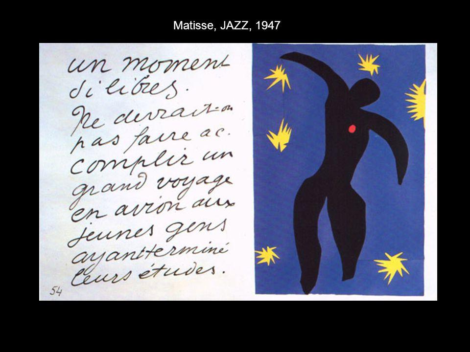 Matisse, JAZZ, 1947