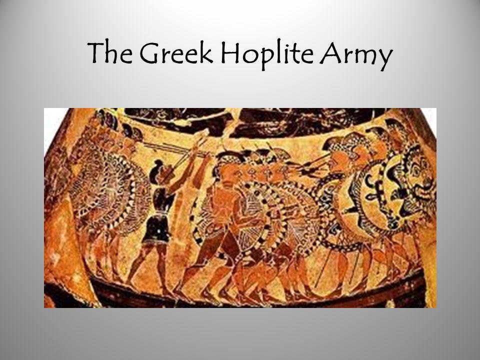 The Greek Hoplite Army