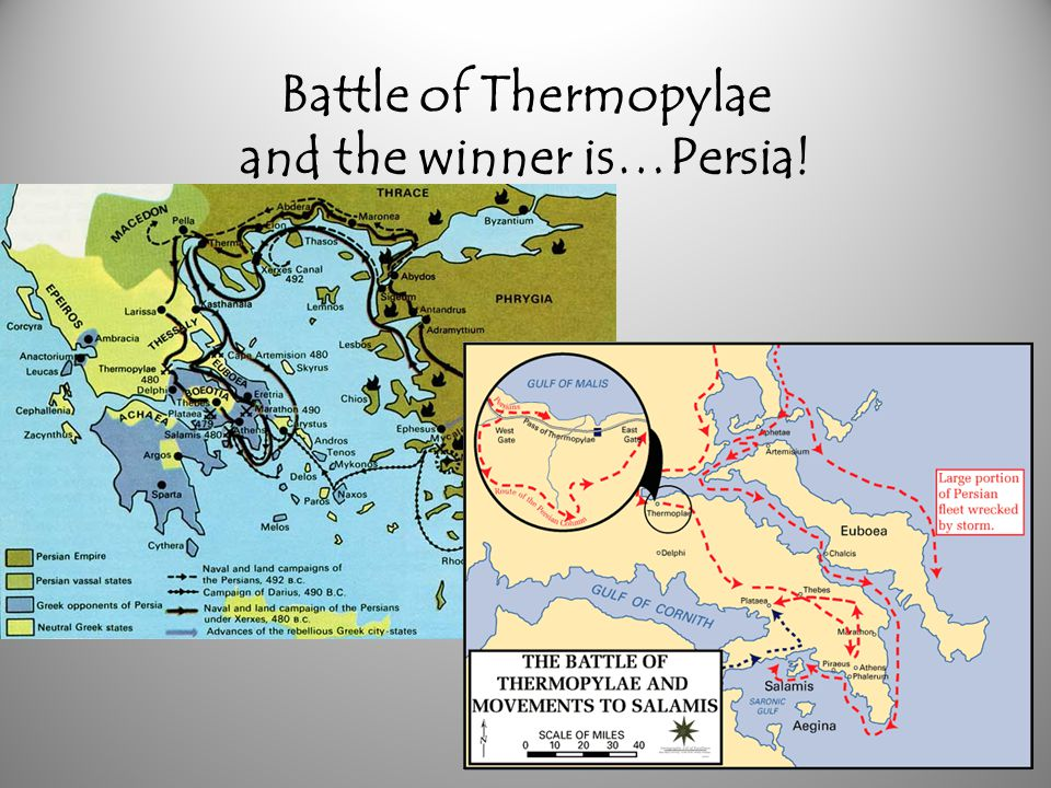 Battle of Thermopylae and the winner is…Persia!