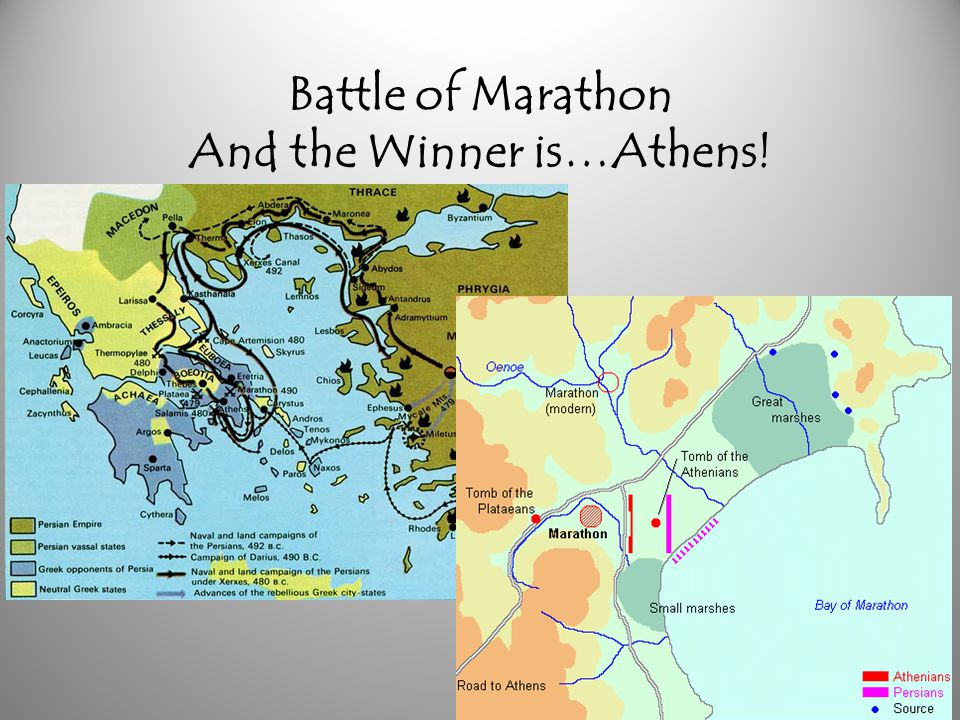 Battle of Marathon And the Winner is…Athens!