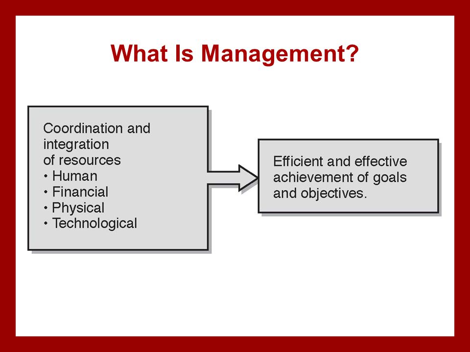 What Is Management Hurd PP, AU CE check, chapter 1