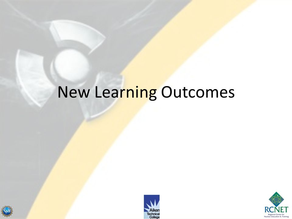 New Learning Outcomes