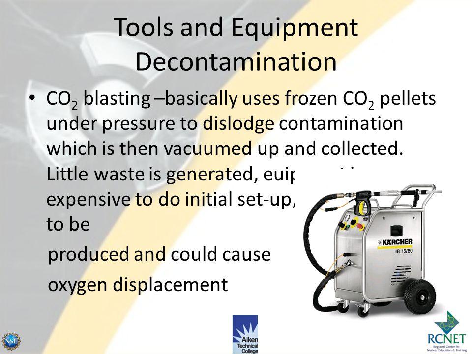 Tools and Equipment Decontamination